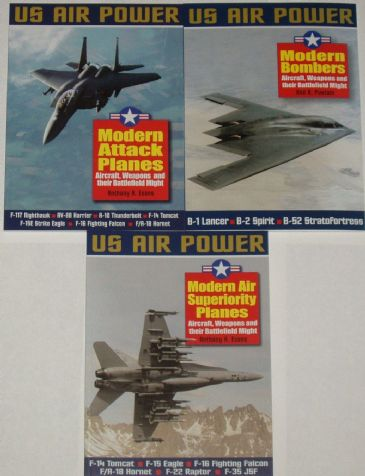 A 3 Volume Set on US Air Power